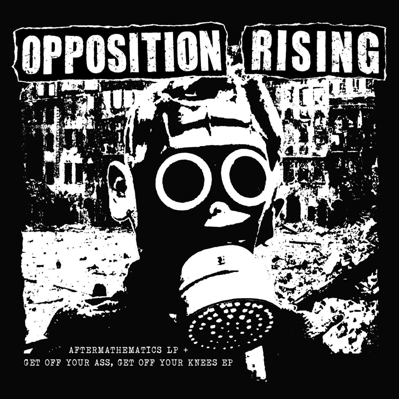 OPPOSITION RISING LP+EP CD Cover